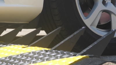 Mechanical tire-killers – An effective security solution against attack of trucks