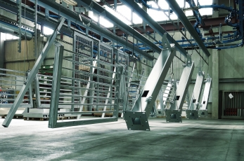 PPG industrial gates with TRI-PROTECT® corrosion protection